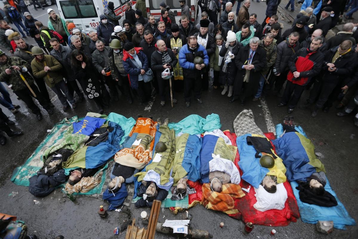 Сьогодні Україна згадує Героїв Небесної Сотні