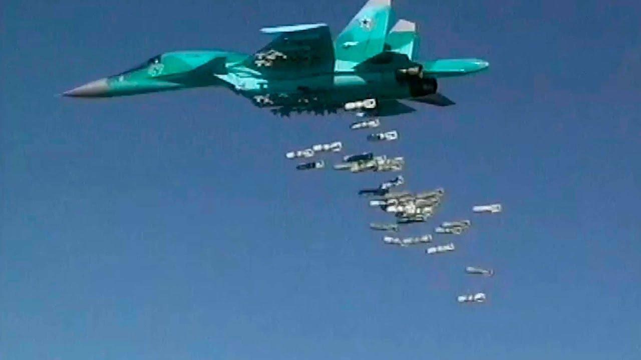 РФ провела масовану авіаатаку у відповідь на бій в Ідлібі (відео)