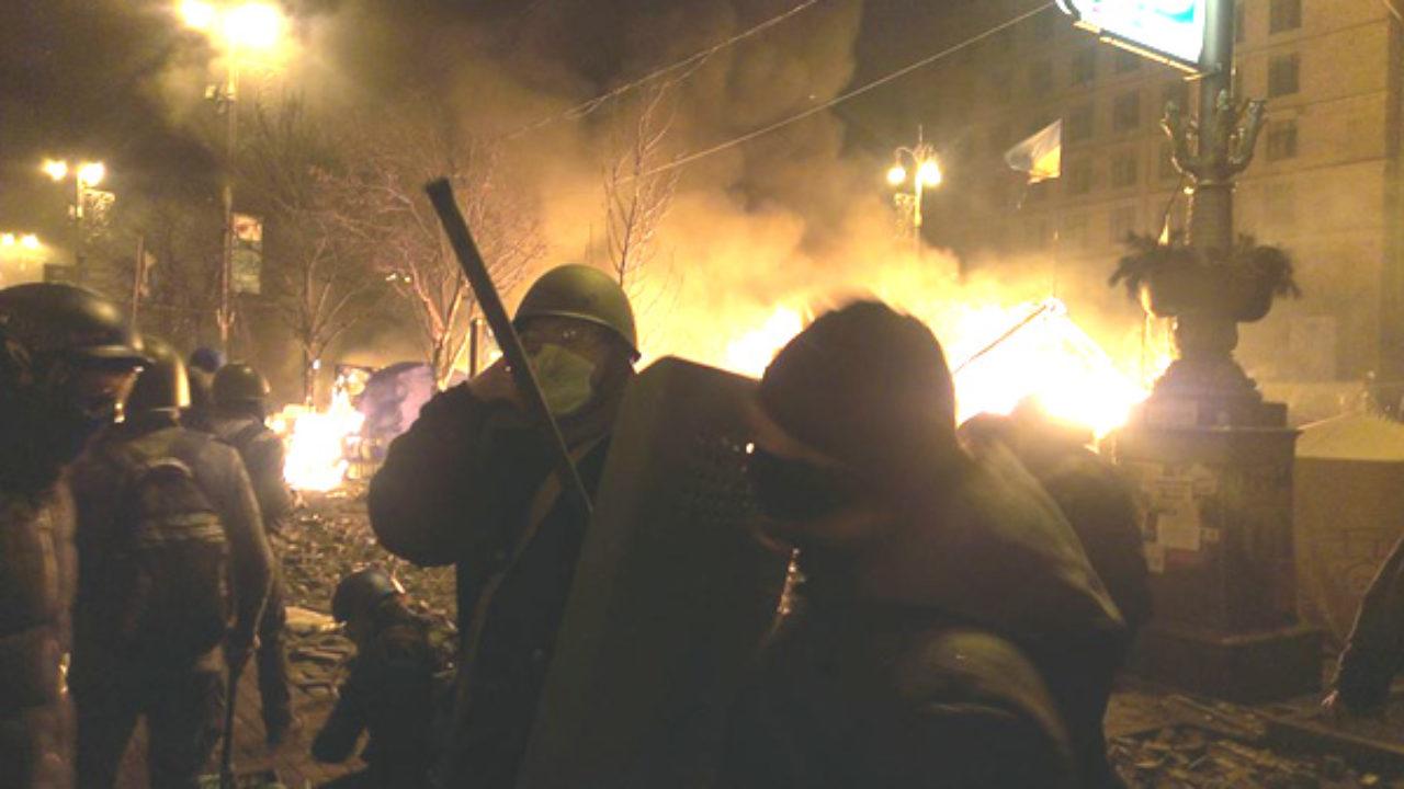 Сьогодні Україна згадує події штурму Майдану
