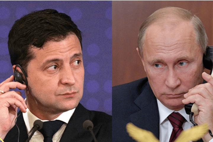 Зеленський та Путін поговорили телефоном
