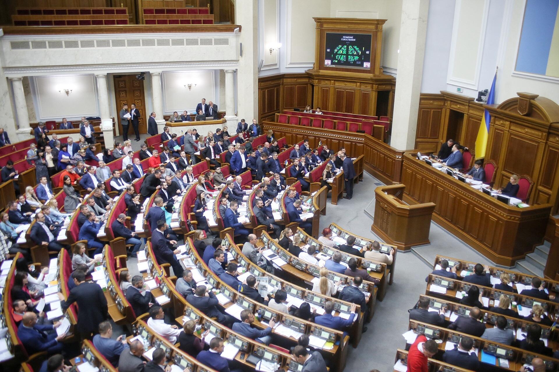 Рада проголосувала за кадрові зміни в уряді