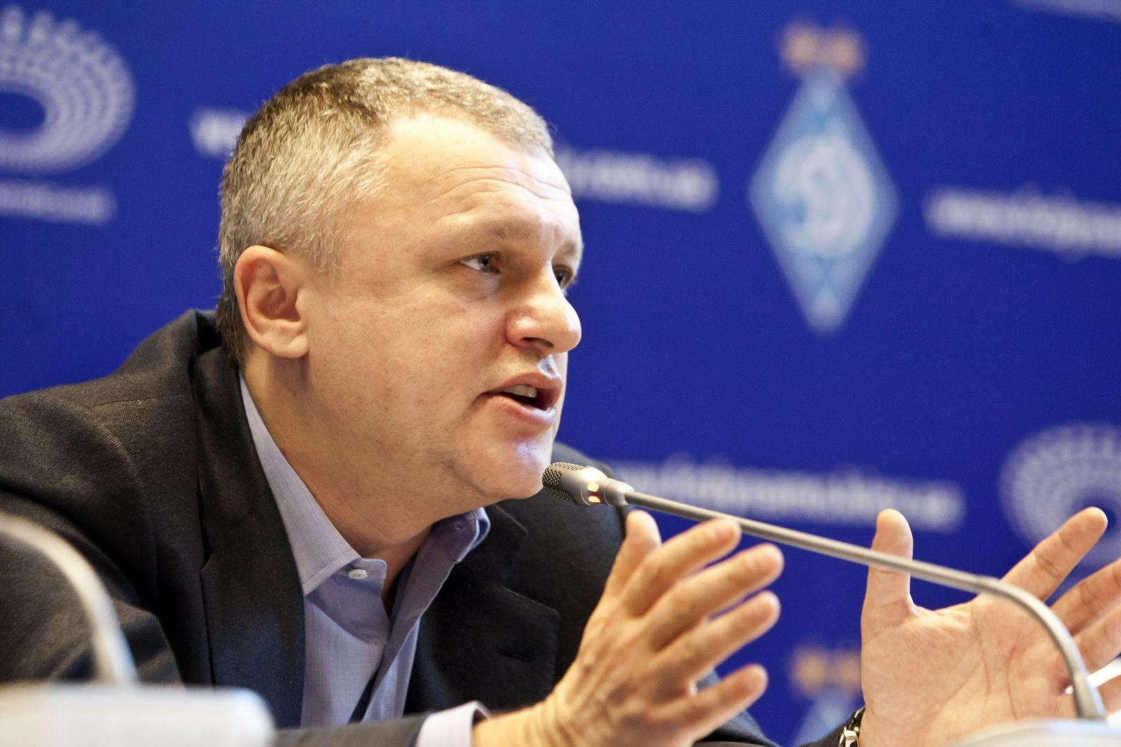 УАФ оштрафувала Суркіса на 50 тис. грн за інтерв'ю