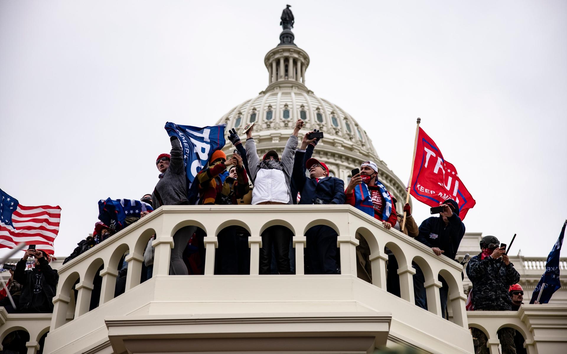 Конгресменам США погрожують новим штурмом Капітолію
