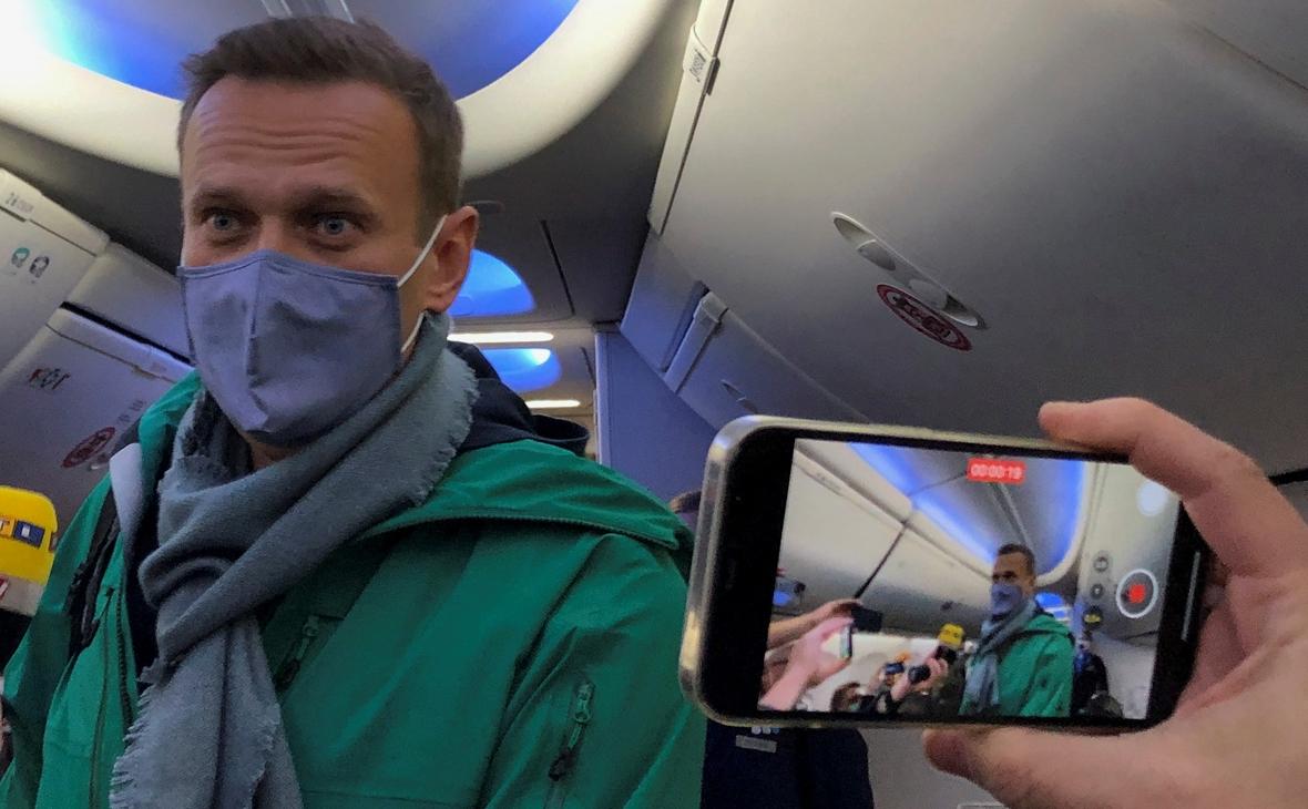 Навального арештували на 30 діб