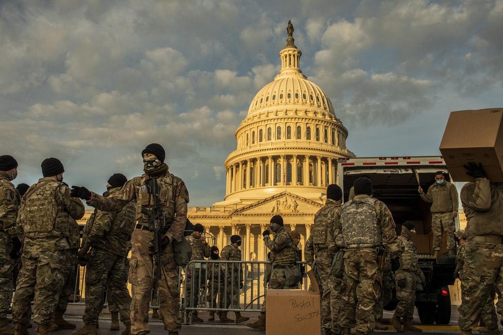 У США евакуювали частину Капітолію