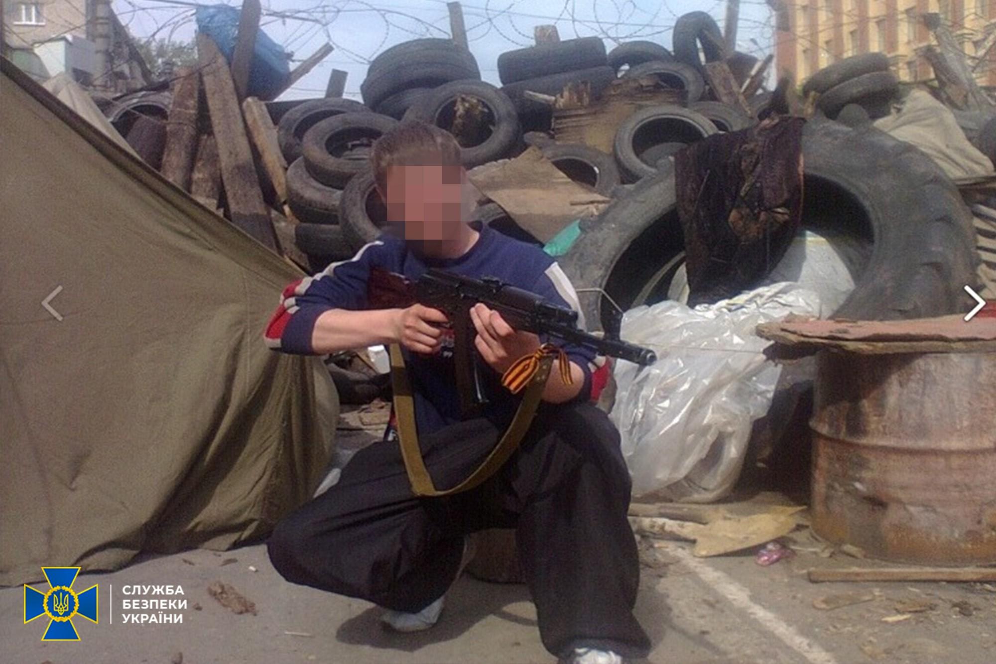 СБУ затримала сепаратиста, який штурмував її управління в Луганську у 2014-му
