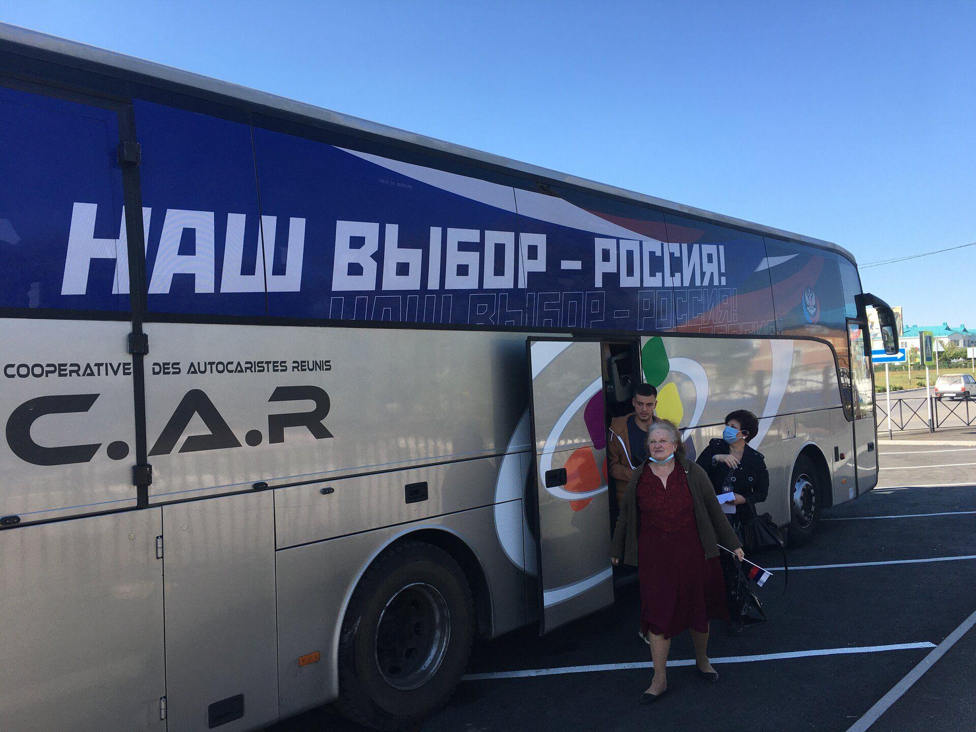 """Місія ОБСЄ зафіксувала перевезення """"виборців"""" з ОРДЛО в РФ"""